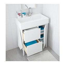 Yddingen wash stand white 70x76 cm ikea for Lavatoio ikea
