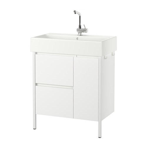 IKEA YDDINGEN wash-stand with 2 drawers/1 door