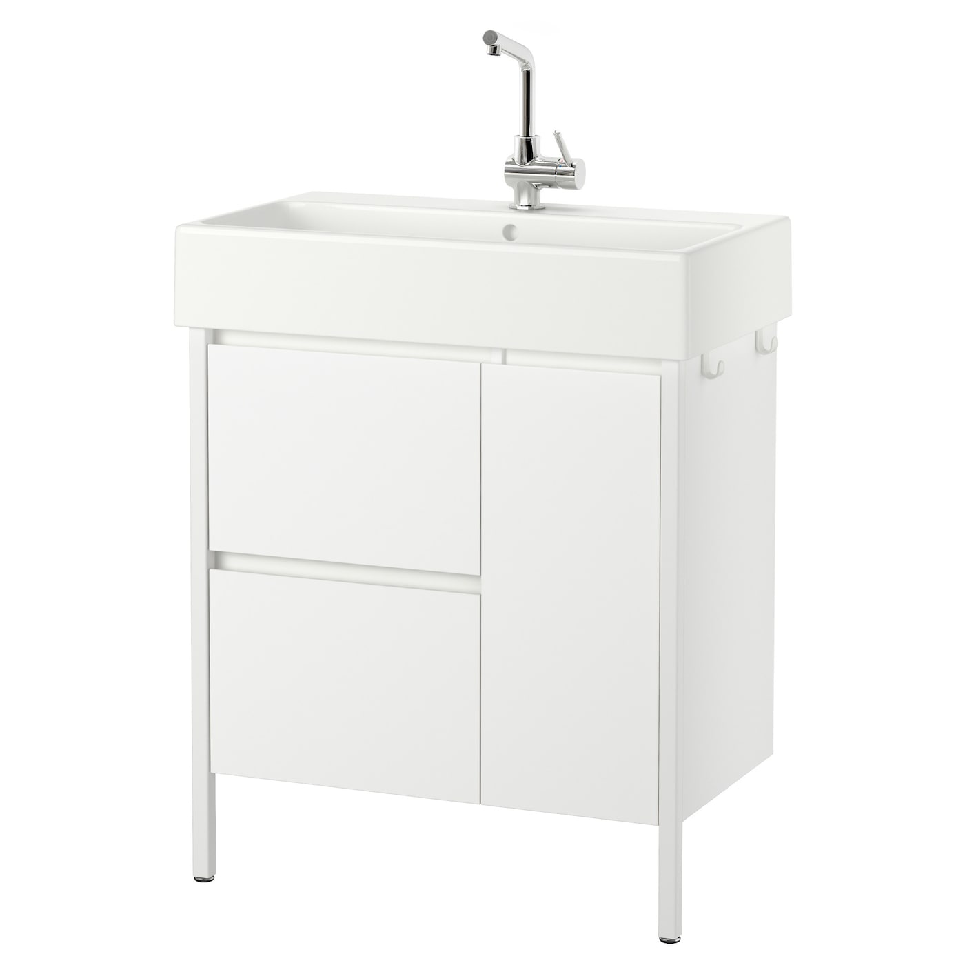 Ikea Yddingen Wash Stand With 2 Drawers 1 Door