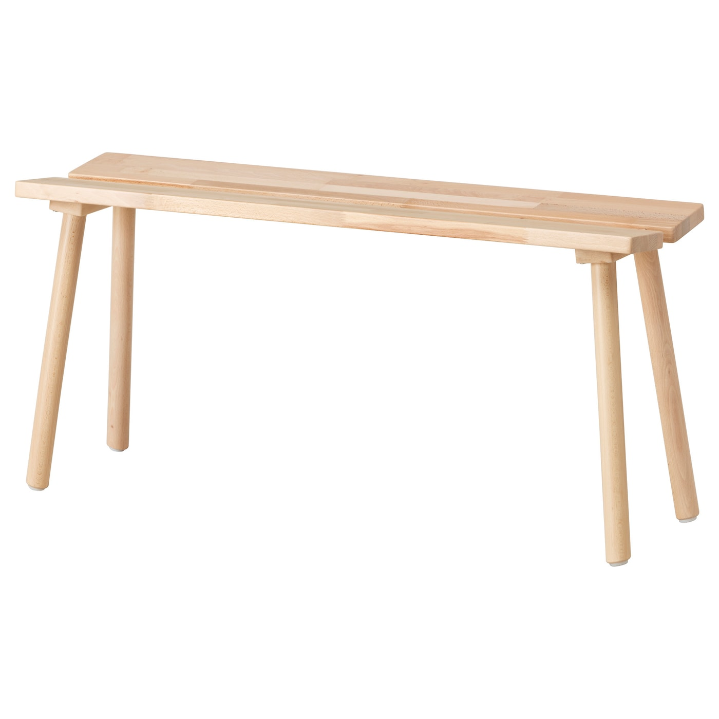 IKEA YPPERLIG bench Solid beech is a hardwearing natural material.