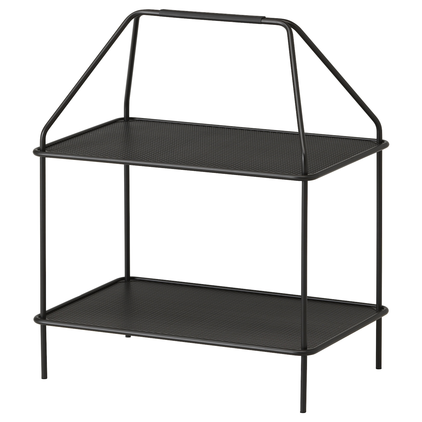 ypperlig magazine stand dark grey 55 x 36 cm ikea. Black Bedroom Furniture Sets. Home Design Ideas
