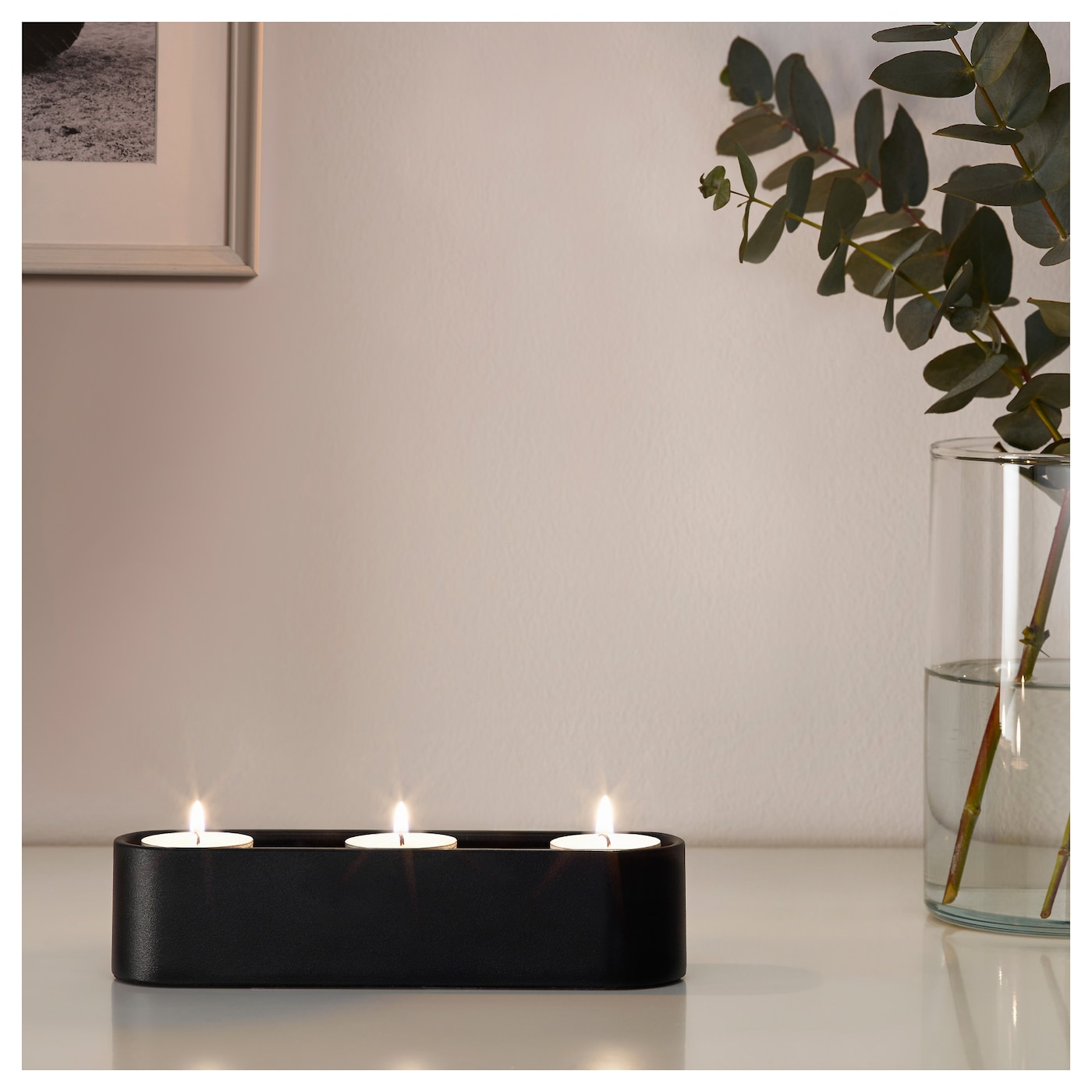IKEA YPPERLIG tealight holder for 3 tealights