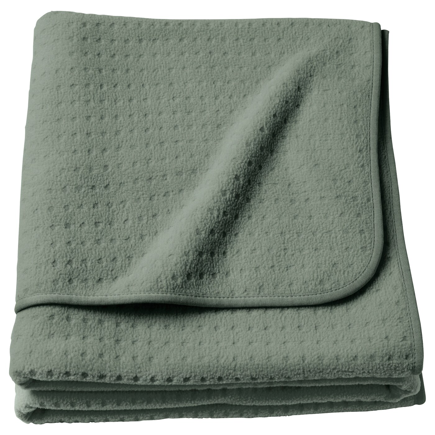IKEA YPPERLIG throw The fleece throw feels soft against your skin and can be machine washed.