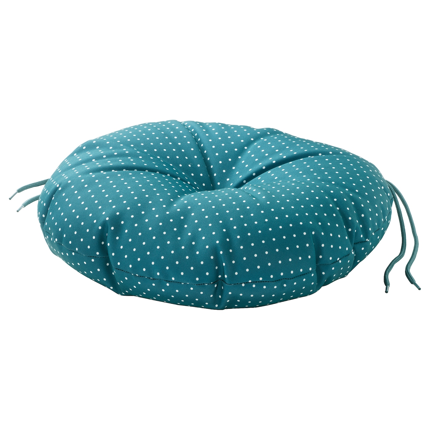 IKEA YTTERÖN chair cushion, outdoor Ties keep the cushion firmly in place on the chair.