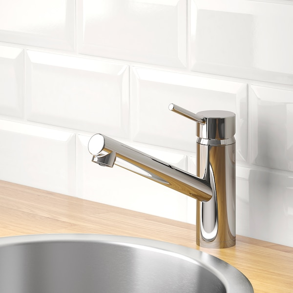 YTTRAN Kitchen mixer tap, chrome-plated