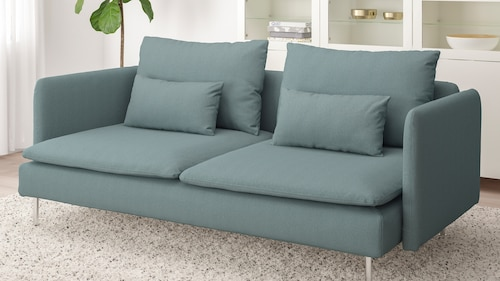 Modular fabric sofas