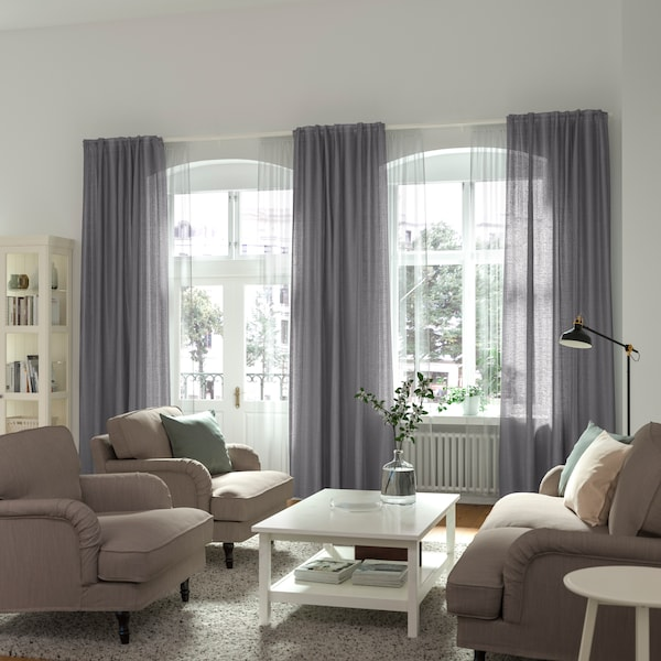 Vidga Gardinenschienen System Ikea