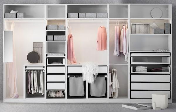Pax Kleiderschrank F 252 R Schlafzimmer Ikea