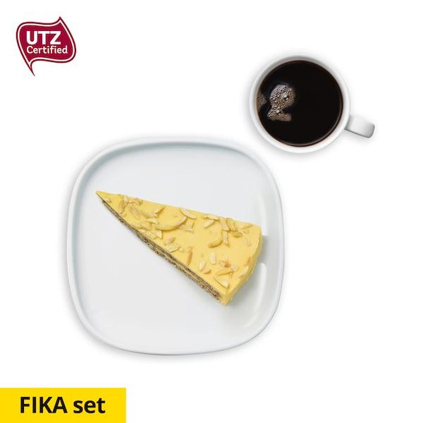 กาแฟและเค้กอัลมอนด์