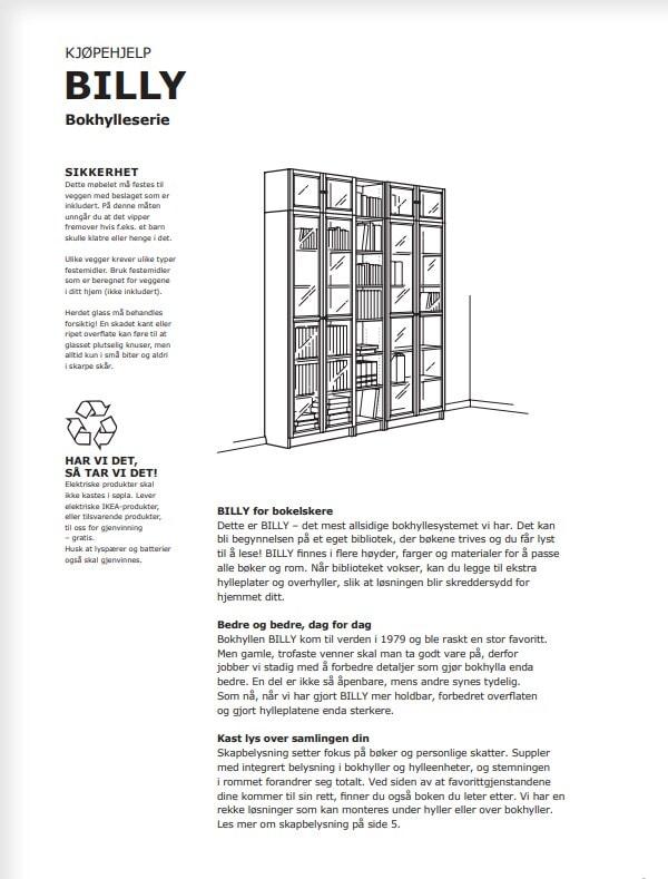 Ikea Catalog 2020 Norge Norway