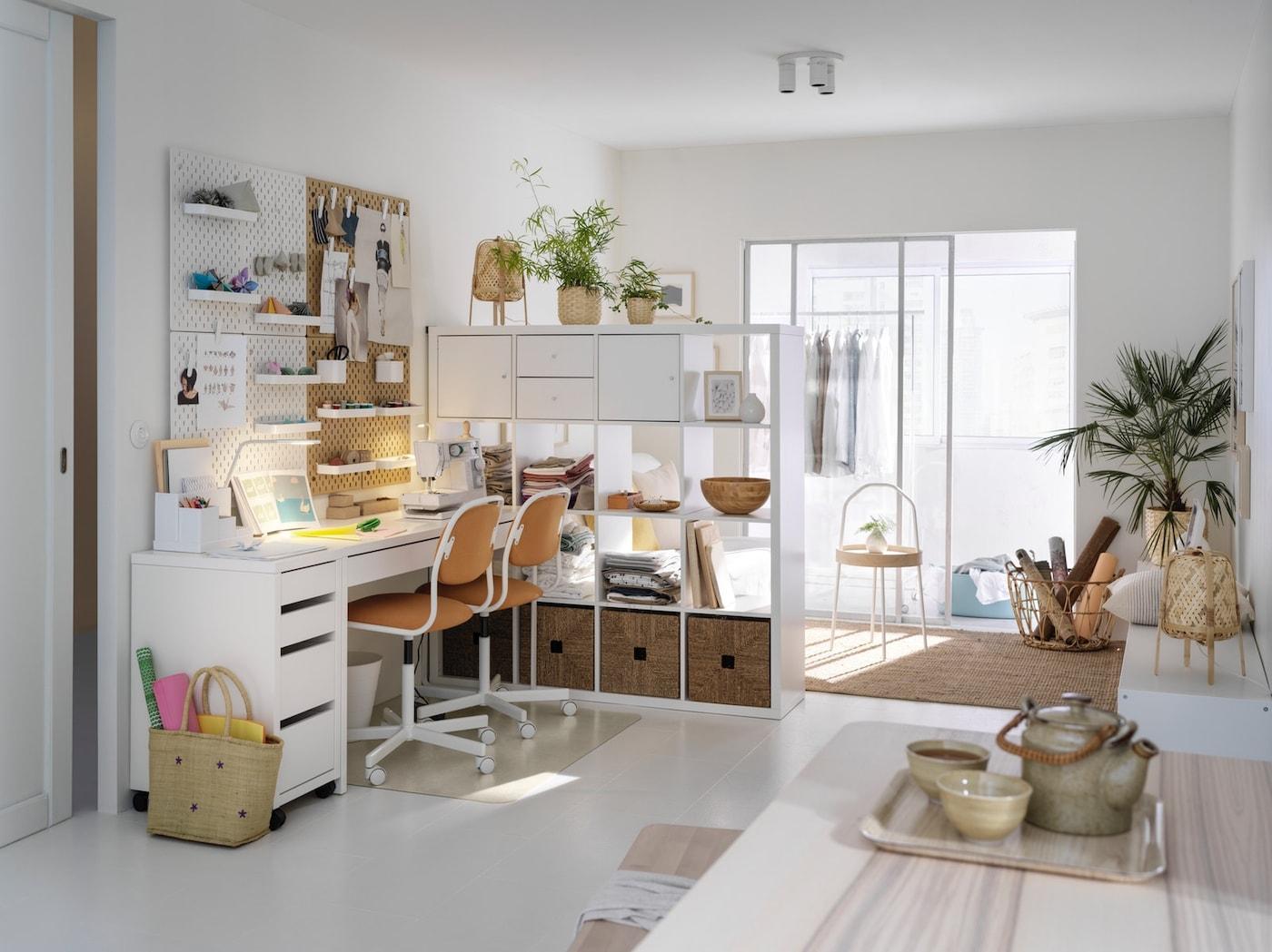 Kreativität & Ordnung an deinem Heimarbeitsplatz - IKEA