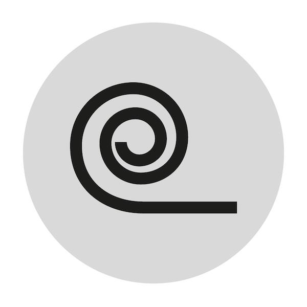 롤 팩 매트리스를 표시하는 아이콘