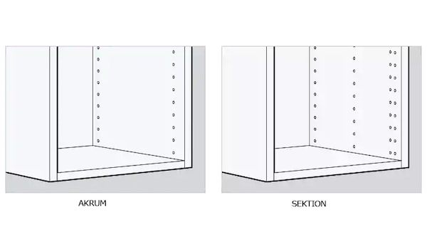 Information on AKURUM - IKEA's previous kitchen system - IKEA