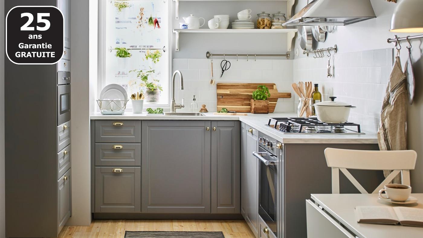 Design classique pour petite cuisine ikea Cuisine pour les petit