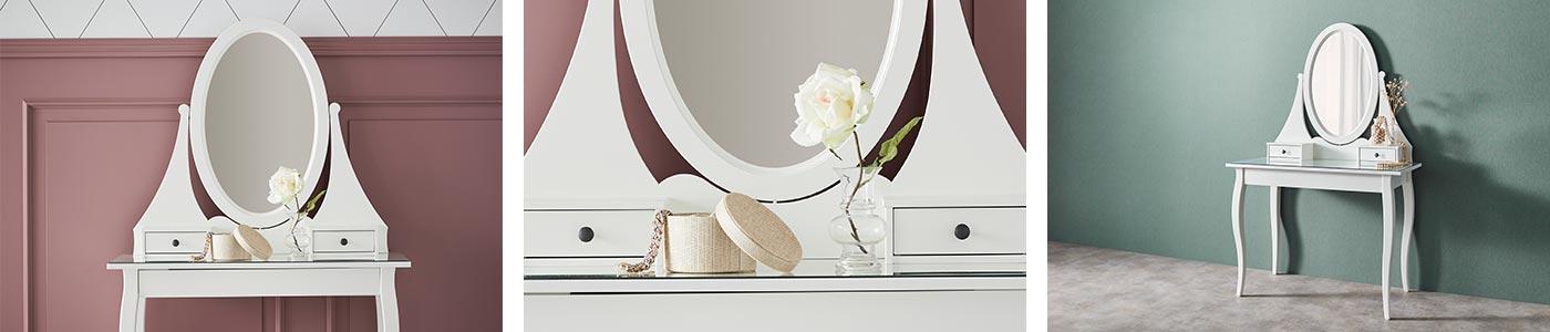Coiffeuse Coiffeuses Avec Miroir Pas Cher Ikea