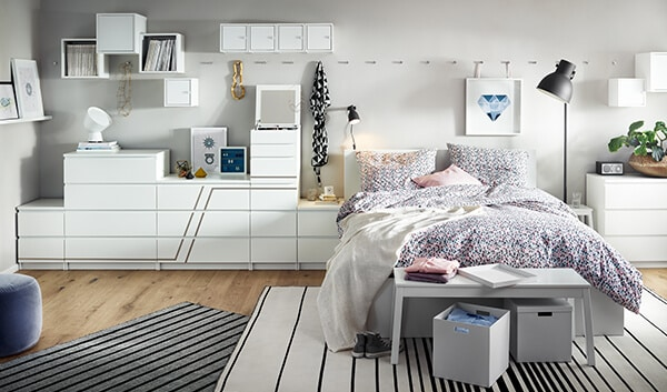 malm schlafzimmer serie ikea. Black Bedroom Furniture Sets. Home Design Ideas