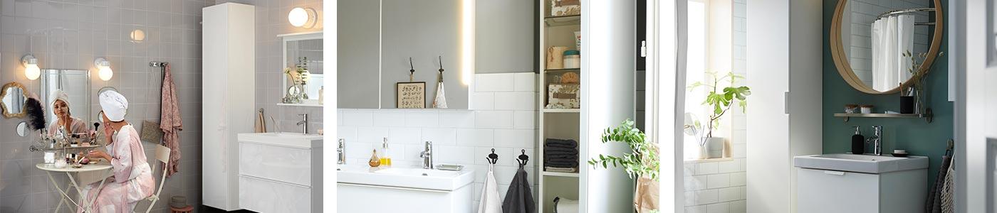 Meubles rangement salle de bain - IKEA