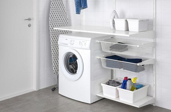 Arredo Bagno Lavanderia Ikea.Lavanderia Cesti E Contenitori Per Vestiti Ikea