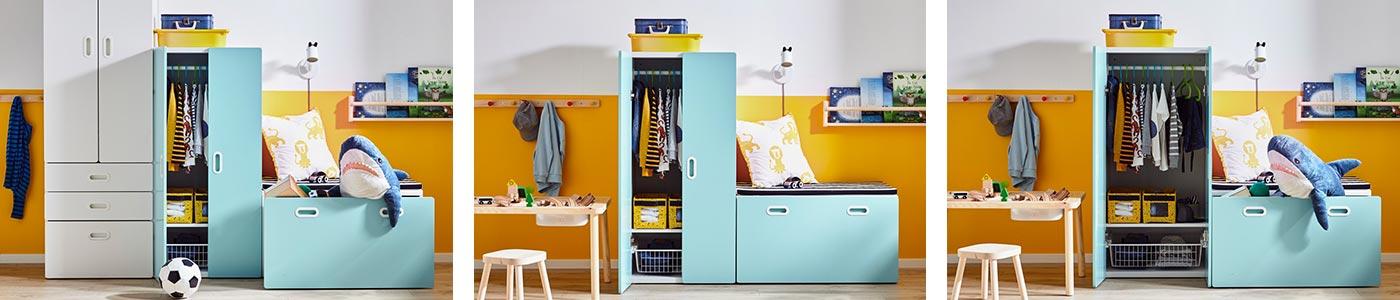 Meuble De Rangement Enfant Bac De Rangement Pour Enfant Ikea