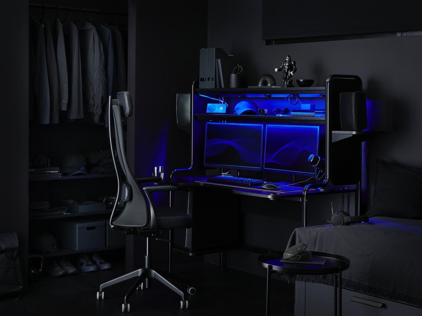 Gaming Schreibtisch Ikea