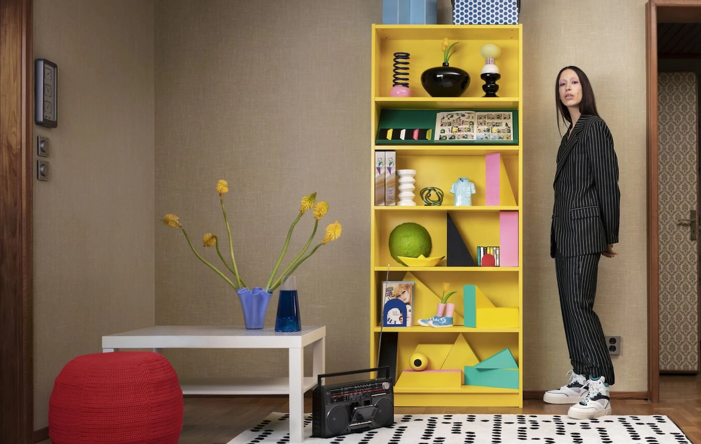 Looks For Bookcases How To Style Your Billy Bookcase Ikea