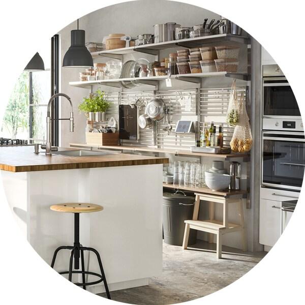 Perfekt organisiert in der Küche: clevere Lösungen! - IKEA