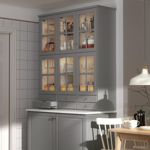 Page finitions cuisine bodbyn gris ikea - Ikea meuble cuisine ...