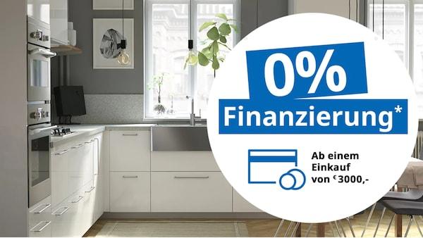 0% Finanzierung ab einem Einkauf von € 3.000,-