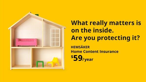 HEMSÄKER Home Content Insurance