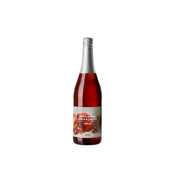 DRYCK BUBBEL ÄPPLE LINGON Sparkling apple and lingonberry