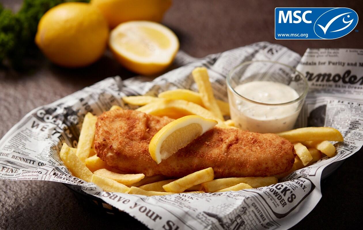 Fish & Chips € 6.75