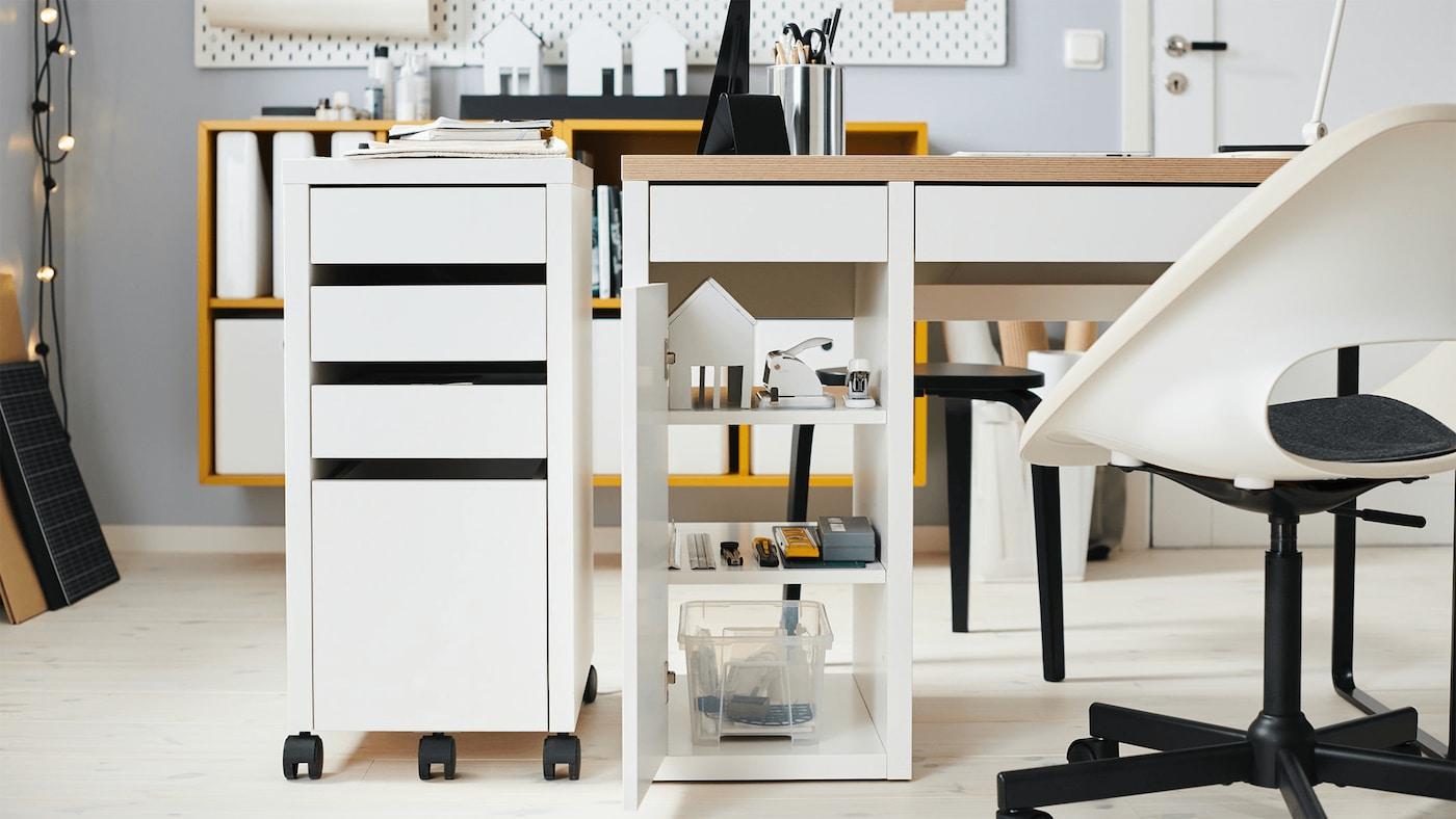 IKEA MICKE draw and computer desk