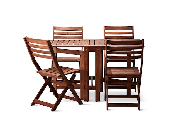 Outdoor dining furniture.