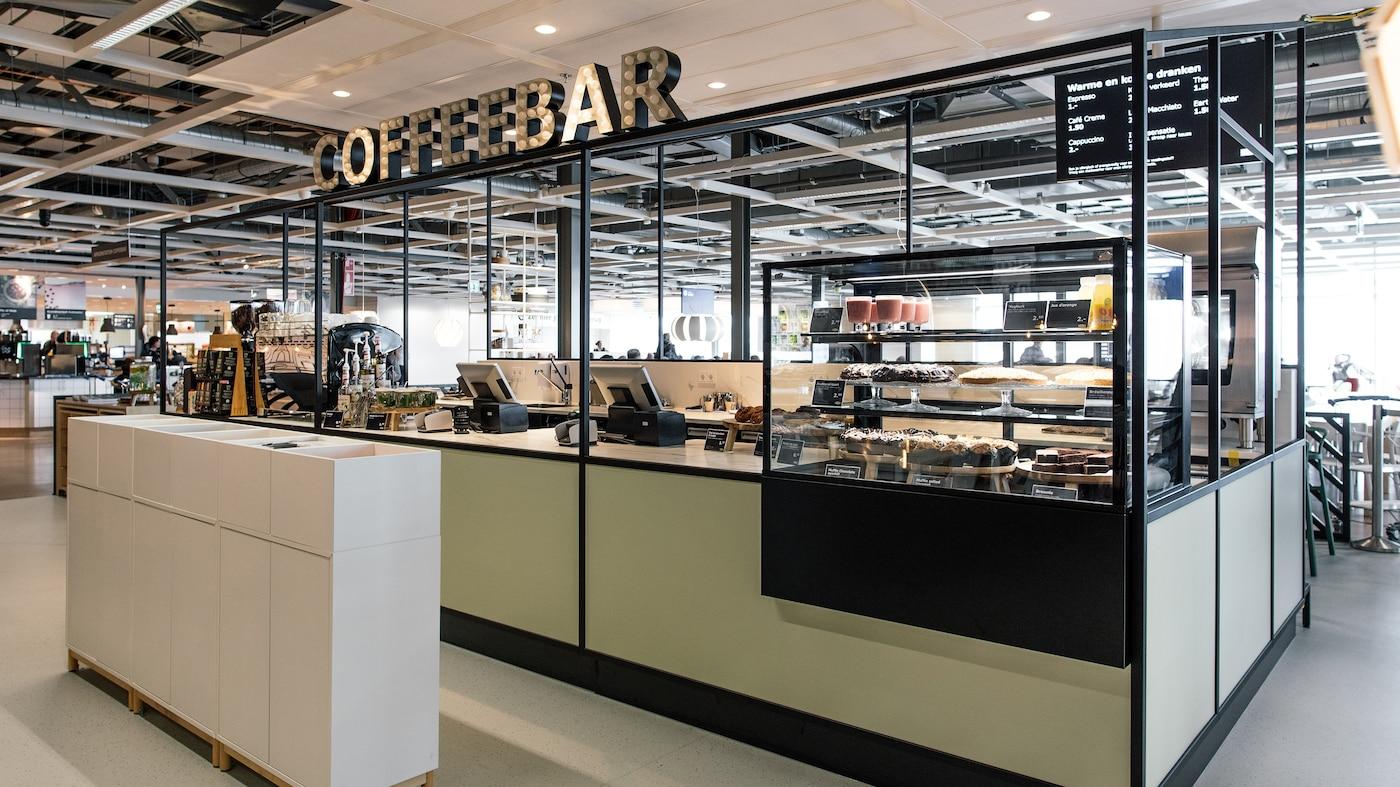 04-04-2018: Eerste Nederlandse Coffee Bar van IKEA geopend in Utrecht