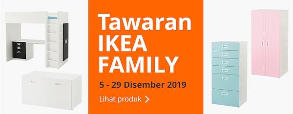 Nikmati Tawaran IKEA Family daripada 5 ke 29 Dis 2019