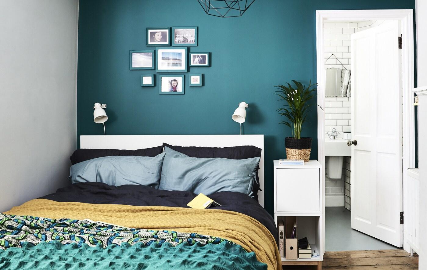 Stylisches kleines Schlafzimmer einrichten - IKEA Deutschland