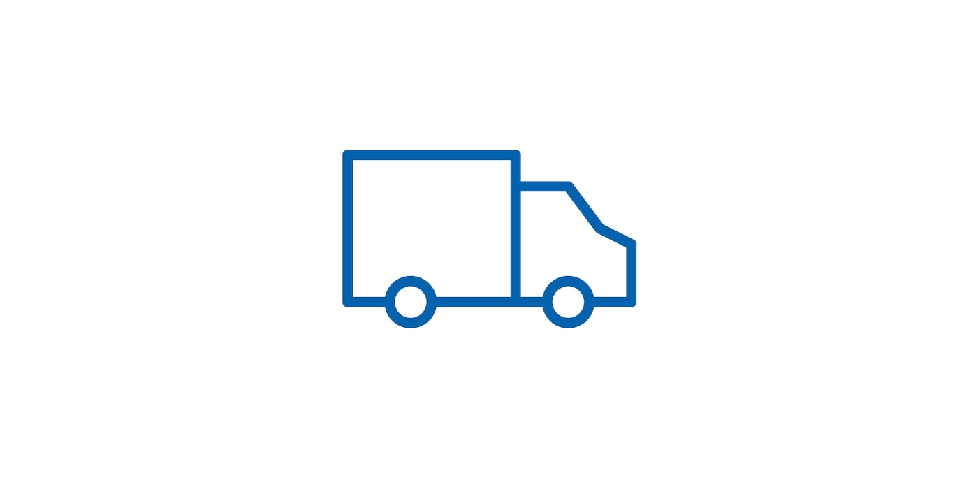 Icon of delivery truck linking to the Delivery services page
