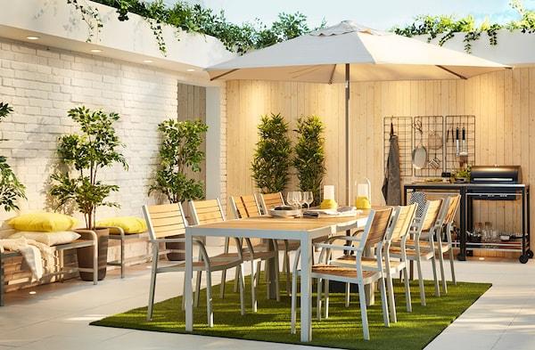 Arredo Giardino Terrazzo Ikea.Mobili Da Giardino E Arredamento Per Esterni Ikea