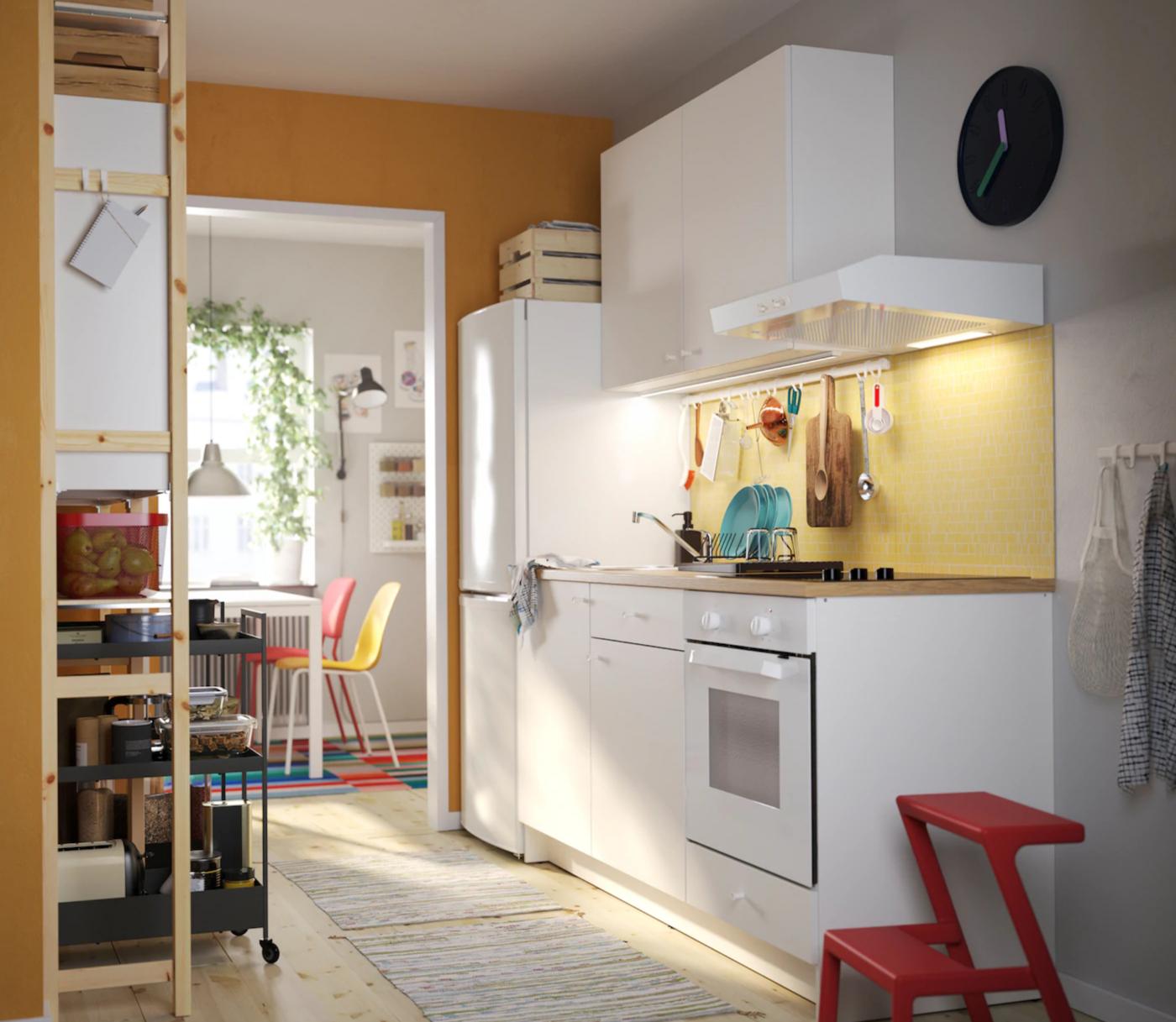 Praktična kuhinja za zajednički dom