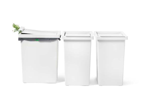 Caixotes de lixo e sacos
