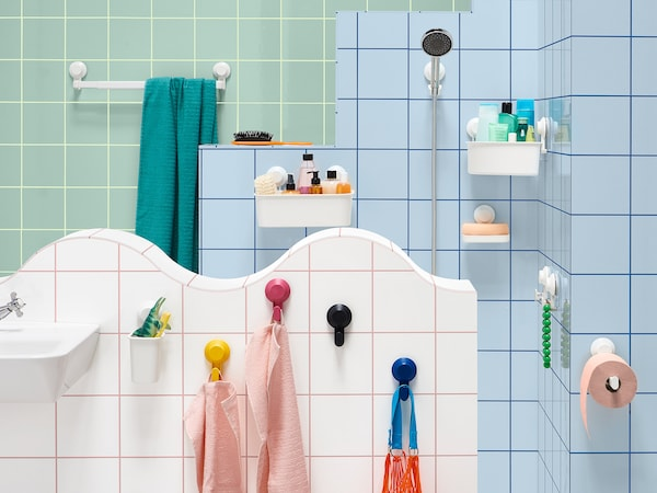 TISKEN & SANDVILAN praktisches Badezimmerzubehör - IKEA