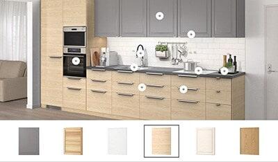 Visualizzatore interattivo cucine - IKEA