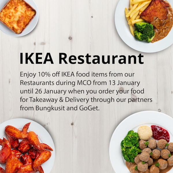 10% off IKEA Food items