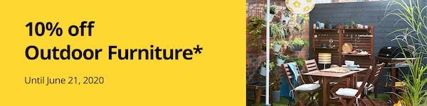 10% off Outdoor furniture - offer