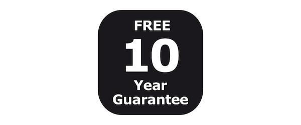 10 year PAX guarantee
