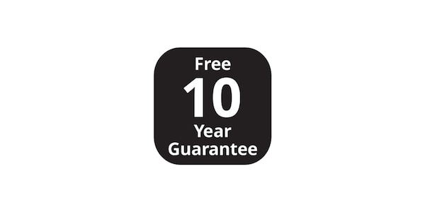 10 years guarantees