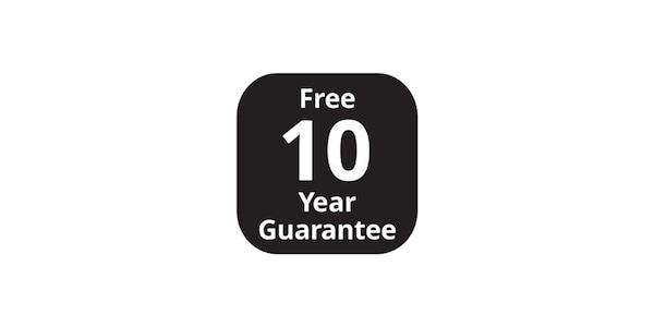 10 years gurantee