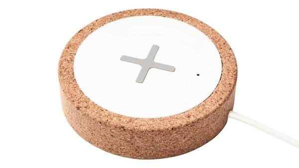 NORDMÄRKE Bezdrátová nabíječka, bílá, korek