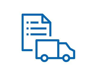 Vyzvednutní zboží s dopravou