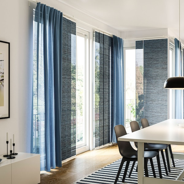 15% on curtains, panel curtains and blinds